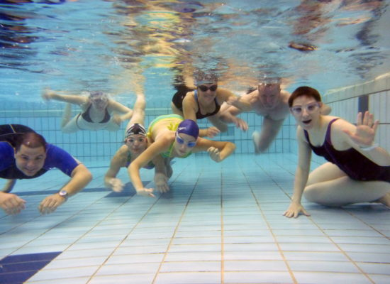 Začetni tečaj plavanja Aqua