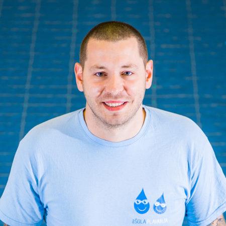 Vaditelj plavanja Uroš, ŠD Aqua.